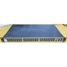 Управляемый коммутатор D-link DES-1210-52 48 port 10/100Mbit + 4 port 1Gbit + 2 port SFP металлический корпус (Ессентуки)